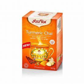 Ekologiška arbata YOGI TEA TURMERIC CHAI 34g