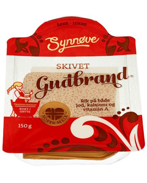 Sūris Gudbrand SYNNOVE, 150g