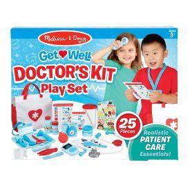 """Žaislinis gydytojo įrankių rinkinys MELISSA & DOUG """"Doctor's Kit"""", 1 vnt."""