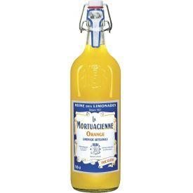 Gazuotas gaivusis gėrimas LA MORTUACIENNE,apelsinų skonio,1L