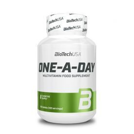 Multivitaminų ir mineralų kompleksas BioTechUSA ONE A DAY, 100 tablečių