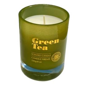 CANDELE FIRENZE žvakė žaliosios arbatos kvapo, 55h, 230 g