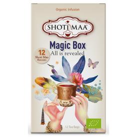 Ekologiška arbata SHOTI MAA Magic Box, 12 maišelių