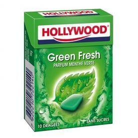 Kramtomoji guma HOLLYWOOD Green fresh, 14 g