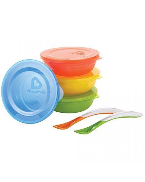 Maitinimo rinkinys MUNCHKIN vaikams nuo 6 mėn. (012106)