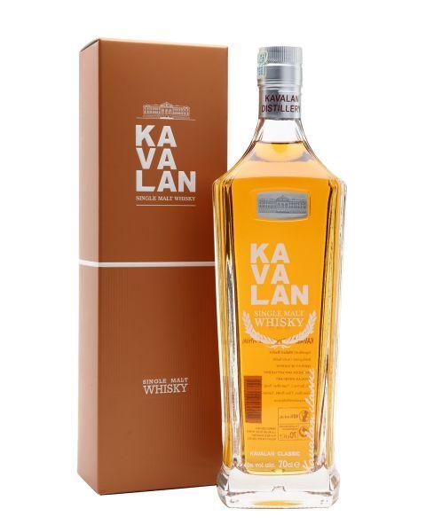 Viskis KAVALAN Classic Single Malt 40%, 500 ml