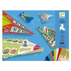 Origami DJECO Lėktuvai 7-12 metų vaikams (DJ08760)