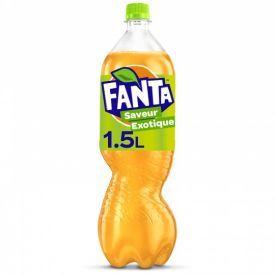 Gazuotas gėrimas FANTA egzotinių vaisių skonio, 1,5L