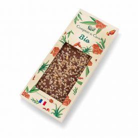 Ekologiškas pieninis šokoladas COMPTOIR du CACAO, su sūria karamele, 90 g