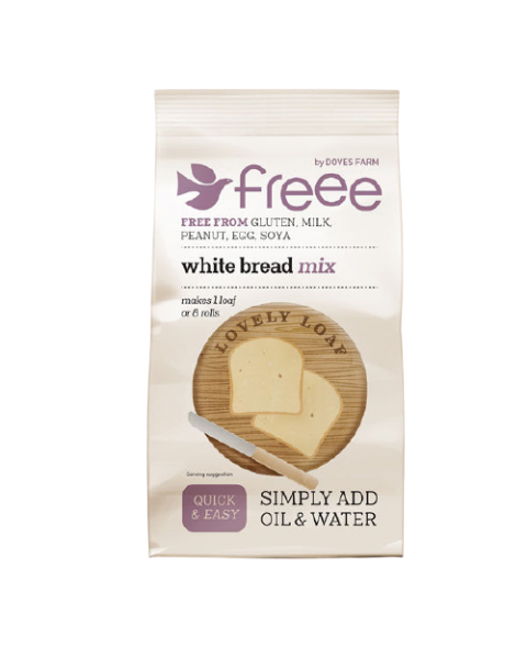 Miltų mišinys baltai duonai DOVES FARM be gliuteno, 500 g