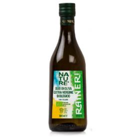 "Ekologiškas ypač tyras alyvuogių aliejus RAINERI ""Da Agricoltura Biologica"", 500 ml"