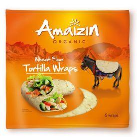 Ekologiškos tortilijos AMAIZIN, 240g