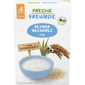 Ekologiška ryžių košė FRECHE FREUNDE, nuo 6 mėn., 140 g
