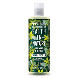 Detoksikuojamasis kondicionierius FAITH IN NATURE su jūros dumbliais, 400 ml