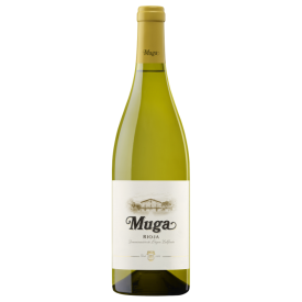 Baltas vynas MUGA Rioja D.O.Ca Fermentado en Barrica 13%, 750ml