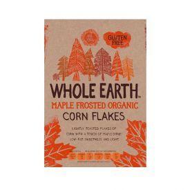 Ekologiški kukurūzų dribsniai WHOLE EARTH, 375 g
