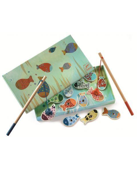 Magnetinis medinis žvejybos žaidimas DJECO vaikams nuo 2 metų (DJ01650)