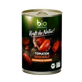 Ekologiški lupti pomidorai savo sultyse BIOZENTRALE, 400 g