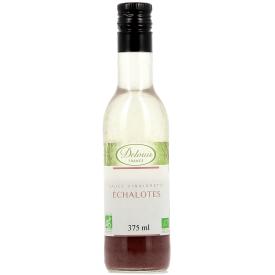 "Ekologiškas salotų padažas DELOUIS ""vinaigrette"" su česnakais, 375 ml"