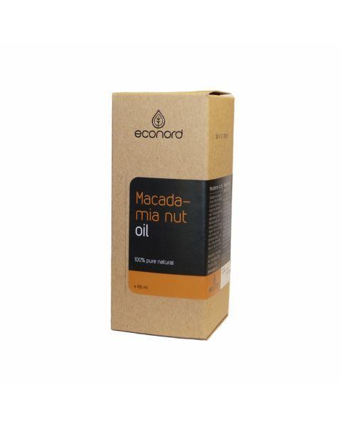 Makadamijos riešutų aliejus ECONORD, 100 ml