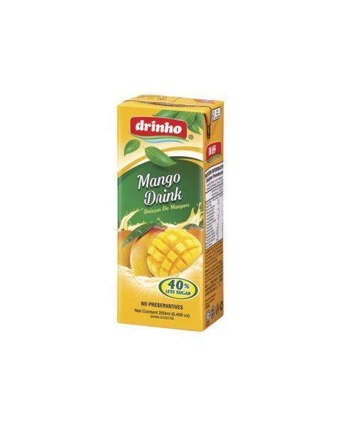 Mangų skonio gėrimas DRINHO, 250ml