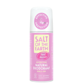 Natūralus rutulinis dezodorantas SALT OF THE EARTH su bijūnų žiedais, 75 ml