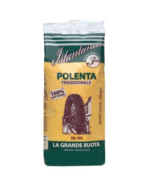 Greito paruošimo kukurūzų kruopos polenta LA GRANDE RUOTA, 500 g