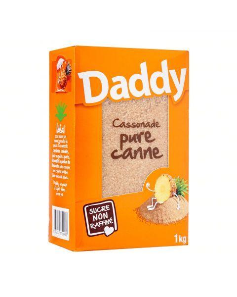 Nerafinuotas cukranendrių cukrus DADDY, 1 kg