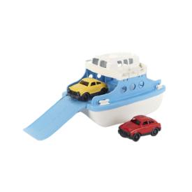 "Žaislų rinkinys GREEN TOYS ™ ""Keltas ir du automobiliai"", 1 vnt."