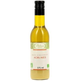 "Ekologiškas salotų padažas DELOUIS ""vinaigrette"" su citrusiniais vaisiais, 375 ml"