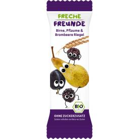 Ekologiškas javų batonėlis FRECHE FREUNDE su kriaušėmis, slyvomis ir gervuogėmis, 4x23 g