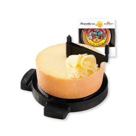 """TETE DE MOINE"" sūris ir pjaustyklė ""Fleurolle"" su dangčiu, 1 vnt"