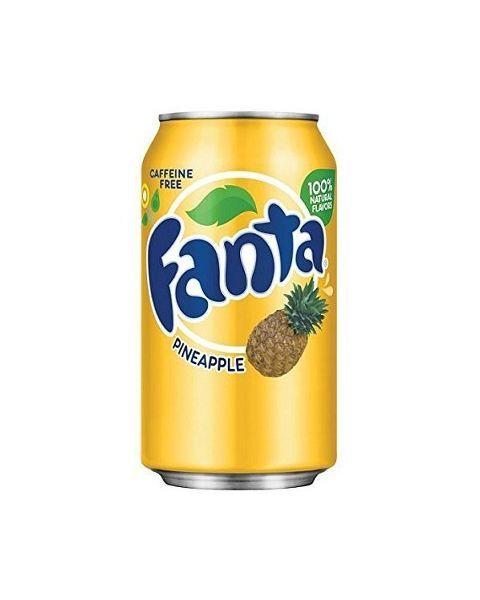 Ananasų skonio FANTA, 355ml