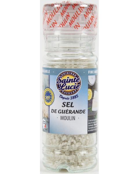 "Pilkoji druska ""Guerande"" SAINTE LUCIE, malūnėlyje, 70 g"