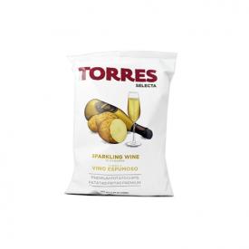 Bulvių traškučiai TORRES putojančio vyno skonio, 50g