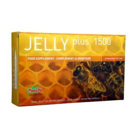 Maisto papildas sveikatinimui PLANTAPOL Jelly Plus (bičių pienelis), 20x10ml