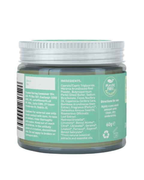 Natūralus tepamas dezodorantas SALT OF THE EARTH su melionais ir agurkais, 60g 2