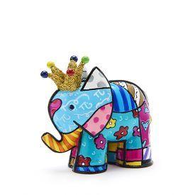 Mini statulėlė BRITTO šventinis drambliukas, 1 vnt.