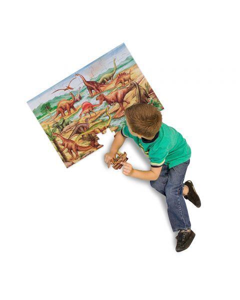 "Dėlionė (48 detalės) MELISSA & DOUG ""Dinosaurs"", 1 vnt. 4"