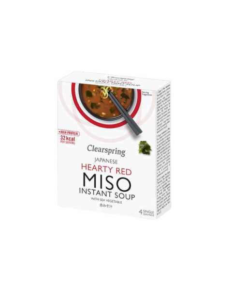 Hearty Red Miso sriuba CLEARSPRING, 4*10g