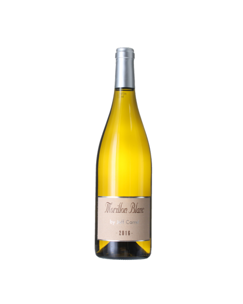 Baltas sausas vynas Morillon Blanc Chardonnay by Jeff Carrel 14%, 750ml