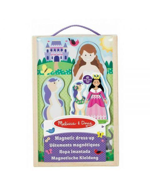 "Žaidimas su magnetukais MELISSA & DOUG ""Princess Dress-Up"", 1 vnt."