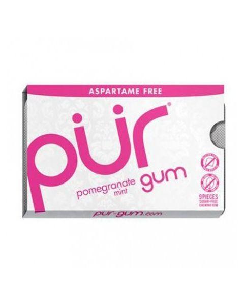 "Becukrė kramtomoji guma PUR ""pomegranate"", 12.6 g"