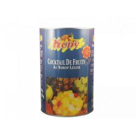Konservuotų vaisių kokteilis sirupe KODY, 825 g