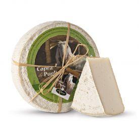 "Ožkų pieno sūris ""CAPRA DI PUGLIA"", brand. 40 dienų, 1kg"