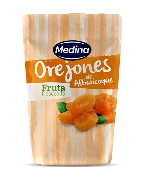 Džiovinti abrikosai MEDINA, 150g.