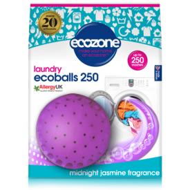 Skalbimo rutuliai ECOZONE Ecoball, jazminų kvapo, 250 skalbimų, 1 vnt.