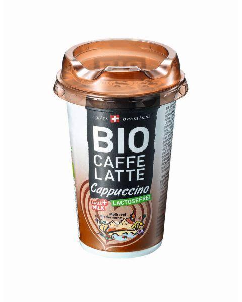 "Ekologiškas šaltos kavos gėrimas ""LATTE CAPPUCCINO"" MOLKEREI, be laktozės, 230ml"