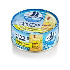 Konservuotas tunas PETIT NAVIRE su alyvuogių aliejum, 160 g