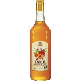 Persikų - abrikosų skonio sirupas RIEME 1L